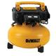 Factory Reconditioned Dewalt DWFP55126R 0.9 HP 6 Gallon Oil-Free Pancake Air Compressor