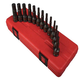 Sunex 3649 13-Piece 3/8 in. Drive Fractional and Metric Hex Driver Set
