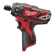 Factory Reconditioned Milwaukee 2406-80 M12 Cordless Lithium-Ion 1/4 in. Hex 2-Speed Screwdriver(Tool Only)
