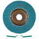 Metabo 656431000 6 in. ZA60 Type 29 Zirconia Alumina Flap Disc