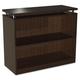Alera ALESE633036ES Sedina Series Two Shelf Bookcase (Espresso)
