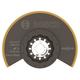 Bosch OSL312T 3-1/2 in. Starlock Titanium Bi-Metal Segmented Saw Blade