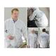 EZ Mix 64042W Anti-Static Lab Coat with Hood Medium