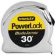 Stanley 33-530 30 ft. PowerlockTape Rule with BladeArmor