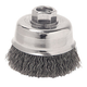 ATD 8230 4 in. Crimped Wire Cup Brush