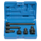 Grey Pneumatic 1100 6-Piece 3/8 in. Dr. Impact Adapter & Extension Set