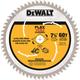Dewalt DWAFV3760 7-1/4 in. 60T Circular Saw Blade