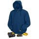 Dewalt DCHJ069C1-L 20 MAX Lithium-Ion Heated Hoodie with Charger and Adapter Kit (Blue) (Large)