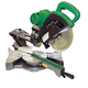 Hitachi C10FSHPS 10 in. Sliding Dual Compound Miter Saw with Laser Guide (Open Box)