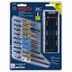 Bosch T18CHCL 18-Piece T-Shank Wood and Metal Cutting Jig Saw Blade Set