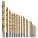 Bosch TI21A 21-Piece Titanium-Coated Metal Drill Bit Set