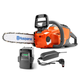 Husqvarna 967276602 40V Cordless Lithium-Ion 12 in. Chainsaw with Battery and Charger