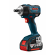 Factory Reconditioned Bosch IWMH182-01-RT 18V Cordless Lithium-Ion 1/2 in. Square Drive Brushless Impact Wrench Kit