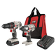 Porter-Cable PCCK604LA 20V MAX 1.3 Ah Cordless Lithium-Ion Drill and Impact Driver Combo Kit
