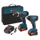 Factory Reconditioned Bosch CLPK237-181-RT 18V Cordless Lithium-Ion 1/2 in. Hammer Drill and 1/4 in. Hex Impact Driver