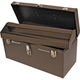 Homak BW00200240 24 in. Professional Industrial Toolbox (Brown)
