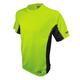 Dewalt DST11-NPGB-L Two Tone High Visibility/Black Performance T-Shirt (Large)