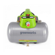 Greenworks 4101602 2 Gal. 1/3 HP Electric Hotdog Air Compressor