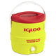 Igloo 385-431 3GAL RED/YELLOW COOLER PLASTIC IND