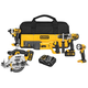 Factory Reconditioned Dewalt DCK592L2R 20V MAX Cordless Lithium-Ion 5-Tool Premium Combo Kit