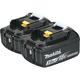Makita BL1830B-2 18V LXT 3 Ah Lithium-Ion Battery (2-Pack)