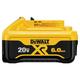 Dewalt DCB206 20V MAX Premium XR 6.0 Ah Lithium-Ion Slide Battery Pack