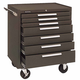 Kennedy 444-297B 00071 Roller Cabinet 7 Drawer Brown