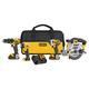Dewalt DCK421D2 20V MAX Li-Ion 4-Tool Combo Kit