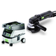Festool PM570789 4-1/2 in. Rotary Sander with CT MINI 2.6 Gallon Mobile Dust Extractor