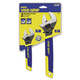 Irwin 2078700 Two-Piece Adjustable Wrench Set, 6 in. And 10 in. Long