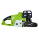 Greenworks 20072 20V Cordless Lithium-Ion 10 in. Chainsaw