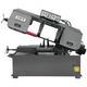 JET 414471 13 in. x 21 in. 3 HP 3-Phase Semi-Auto Horizontal Band Saw