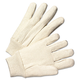 Anchor ANR1110 Light-Duty Canvas Gloves, White, 12 Pairs