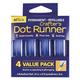 AdTech 05698 4pk Box Dot Runner Box .31-in x 315-in
