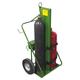 Saf-T-cart 552-16FW 550 Series 1,000 lbs. Capacity Cart (Green)