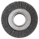 Anderson 066-01134 6 in. Diameter 2 in. Arbor Crimped-Wire Wheel