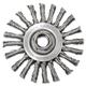 Anderson 12575 4 in. x 1 in. Trim Stringer-Bead Twist-Knot Wheel