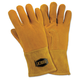 West Chester 813-6030-L LG Insulated Top Grain Reverse Deerskin Mig Welding Gloves (Orange/Tan)