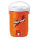 Gatorade 308-49200-C 3 Gallon Beverage Cooler (Orange/White)