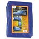 Anchor ANR1824 Multiple Use Tarpaulin, Polyethylene, 18 ft x 24 ft, Blue