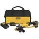 Dewalt DCG412L2 20V MAX Cordless Lithium-Ion 4-1/2 in. Cut Off Tool Kit