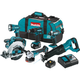 Makita XT610 18V LXT Cordless Lithium-Ion 6-Tool Combo Kit