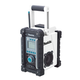 Factory Reconditioned Makita BMR100W-R 18V Cordless LXT Lithium-Ion FM/AM Job Site Radio with MP3 Jack