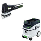 Festool PAC567852 Duplex Linear Detail Sander with CT 36 AC 9.5 Gallon Mobile Dust Extractor