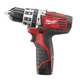 Factory Reconditioned Milwaukee 2411-82 M12 12V Cordless Lithium-Ion 3/8 in. Hammer Drill Driver Kit