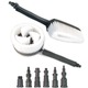 Powerwasher 80008 Rotary and Fixed-Hand Dual Brush Kit for Pressure Washers