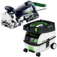 Festool PM574422 Domino XL Joiner with CT MINI 2.6 Gallon Mobile Dust Extractor