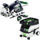 Festool PM574447 Domino XL Joiner Set with CT MINI 2.6 Gallon Mobile Dust Extractor