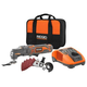 Factory Reconditioned Ridgid ZRR82236 12V Cordless Lithium-Ion Multi-Tool Starter Kit