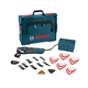Bosch MX30EL-37 3.0 Amp Multi-X Oscillating Tool Kit with 37 Accessories and L-BOXX Case
